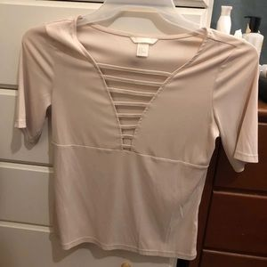 H&M cut out busty top